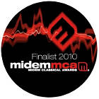 Midem Classical Awards. Finalist 2010